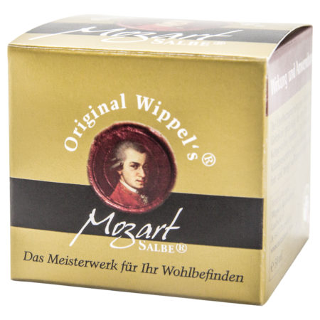 Verpackung der Mozartsalbe